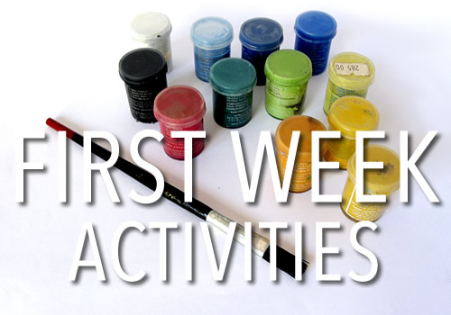 Firstweek_Activities