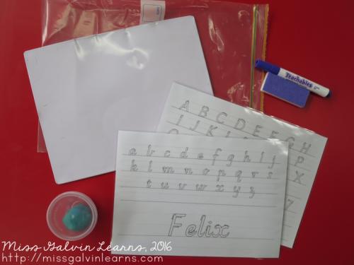 Handwriting Bags